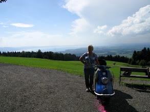 Photo: ..am Berghof Stadler gibt es einen fantastischen Blick über den Bodensee
