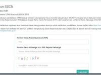 Panduan Pendaftaran Registrasi Akun SSCN bagi Pelamar CPNS 2018