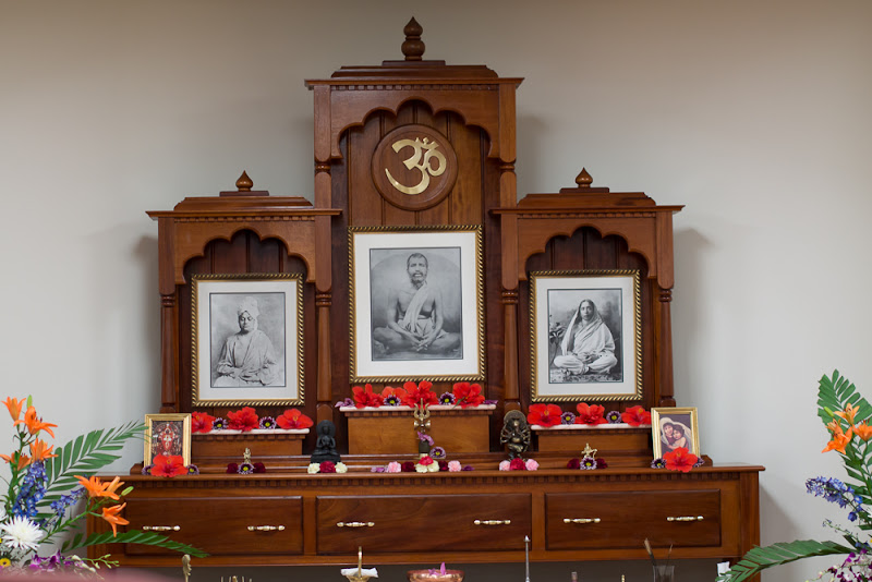 Old Shrine moved to basement of the new temple
