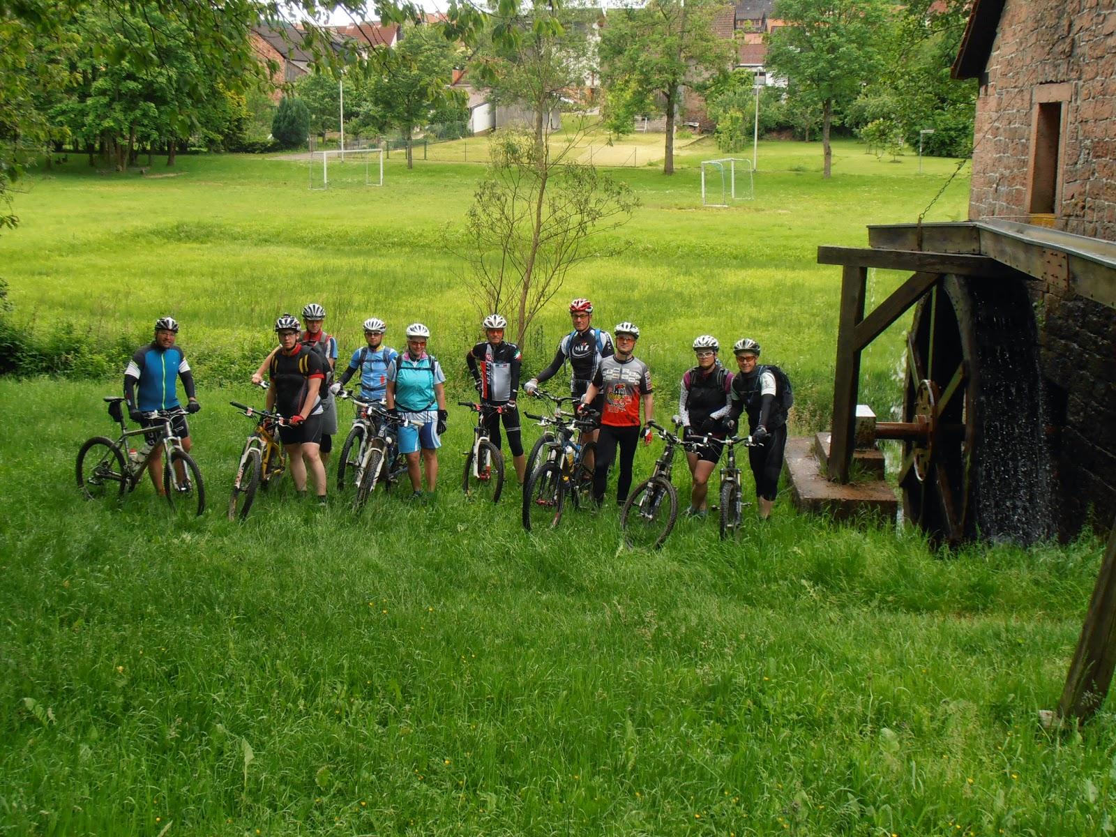 Spessart Biker Trail Tour am 1. Juni 2014