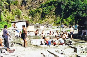 Photo: Hete baden Tato Pani.