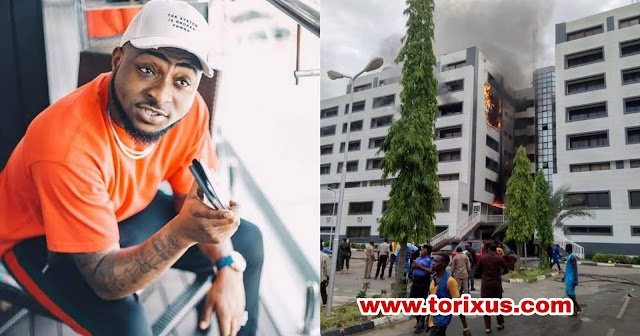 They Should Provide Our Money - Davido Reacts to Fire Outbreak in Accountant General's Office