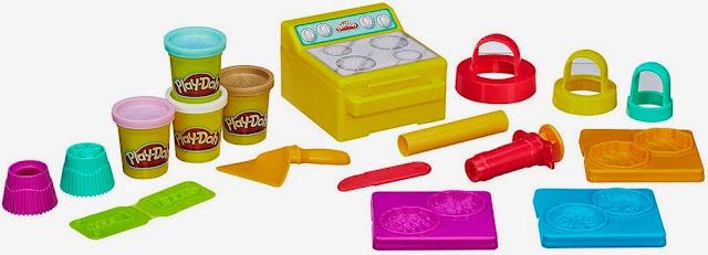 Bộ đồ chơi Bột nặn làm Bánh nướng ngọt ngào Play-Doh A9802 Sweet Bakin' Creations