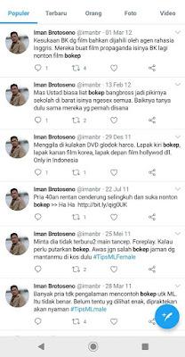 netizen #boikotTVRI