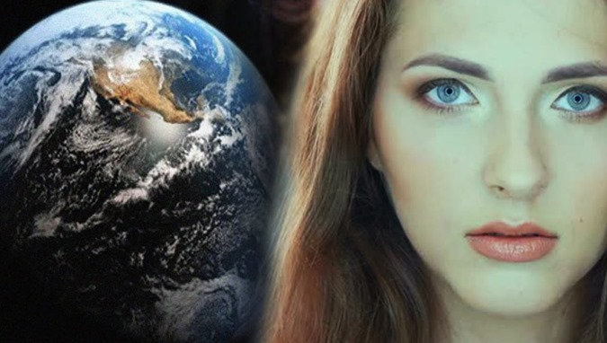 A história incrível de uma mulher aterrorizada de outro universo