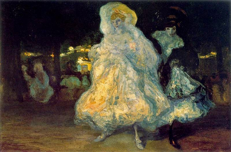 Hermen Anglada-Camarasa - Champs Elysées. 1904