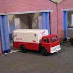 Ford D Series ,Walls Meats & Pies sales van, built using a FOR3 cab CH5 chassis, W11 Wheel set and a B4a body, the transfer set is TFR79