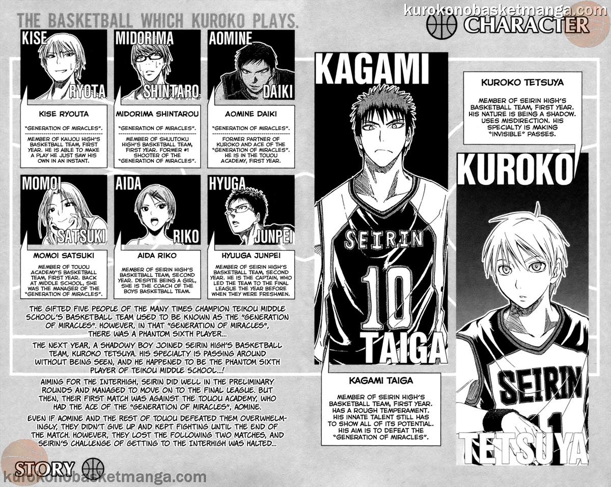 Kuroko no Basket Manga Chapter 53 - Image 4-005