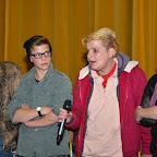 Emmanuel, Yaël (jeune comédien qui interprète Emmanuel adolescent), Christine et Isabelle