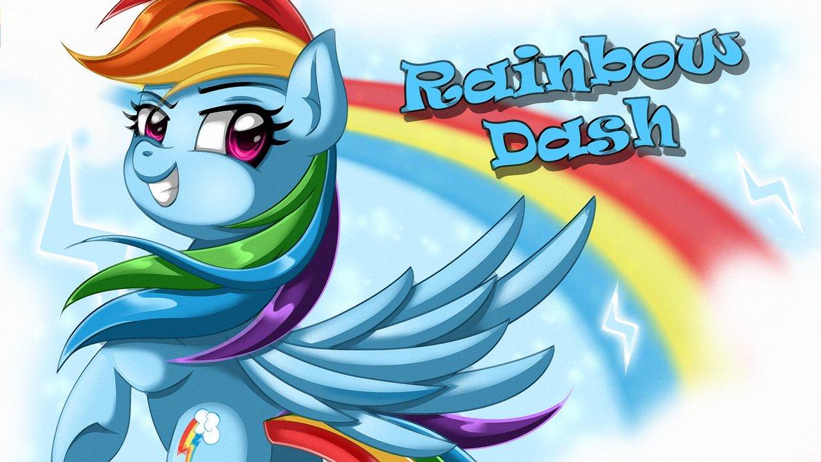 Equestria Daily - MLP Stuff!: 55 Rainbow Dash Wallpapers ...