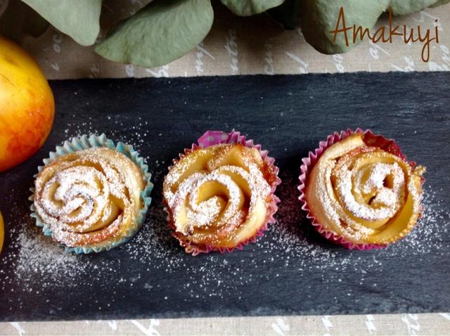 Manzana-hojaldre-receta-rosas-postre
