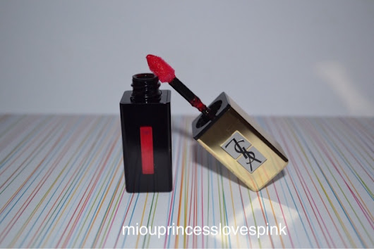 miouprincess loves pink!: Lipstick Love: YSL Rouge Pur Couture Vernis a levres, 201