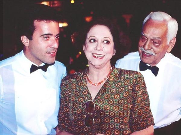 Paulo Gracindo, Fernanda Montenegro e Tony Ramos em Rainha da Sucata