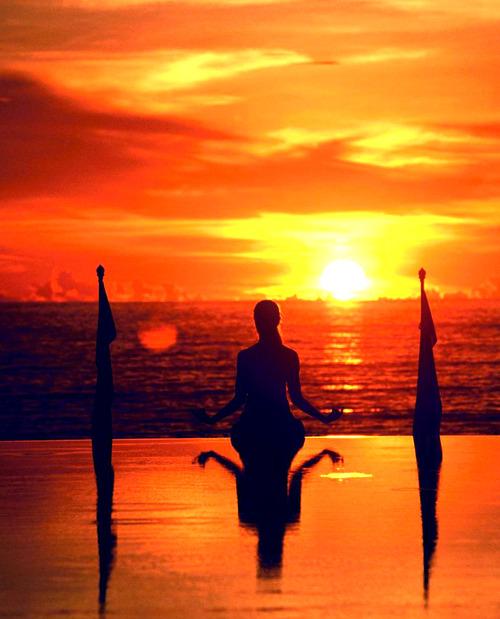 Sunset Yoga, Yoga And Meditation