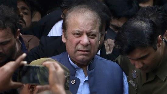 Former Pakistani Prime Minister Nawaz Sharif.(AP)