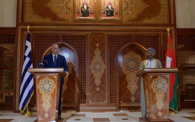 Ν. Δένδιας: «Οι τουρκικές αντιδράσεις εξηγούνται μόνο αν η Τουρκία θεωρεί τον εαυτό της ως επιτιθέμενο κράτος»