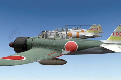Free Mitsubishi Zero A6M21 for X-Plane