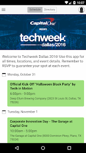 Techweek Dallas 2016- screenshot thumbnail