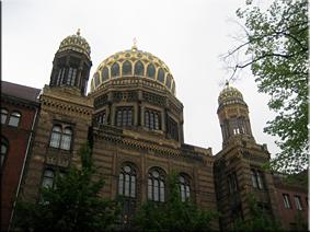 La Neue Synagoge (Nueva Sinagoga) - Berlín'10