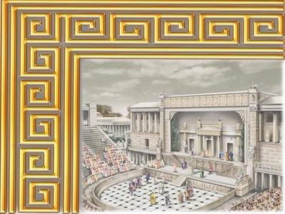 Древнегреческий театр отражение в следующих эпохах