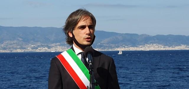 Il sindaco Giuseppe Falcomatà in visita al Comando della Polizia Municipale