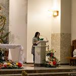 Dh. Ola Wójcik odczytuje przeslanie BŚP w kościele Chrystusa Króla.jpg