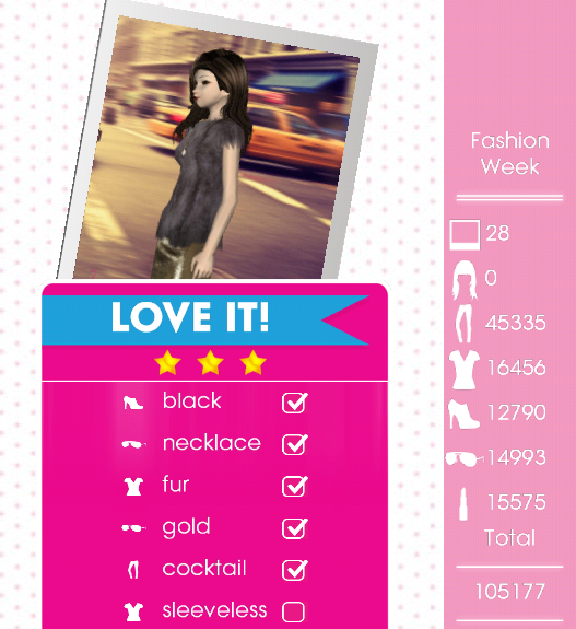 Teen Vogue Me Girl Level 14 Fashion Week Rachel I