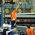 Dynamo-Orion 22-1-2014, foto's Hans van Dijk