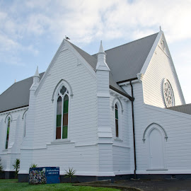 Another view of the completed church, Parnell Auckland