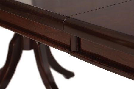 90 x 48 Tonkin Dining Table in High-Gloss Rich Cherry