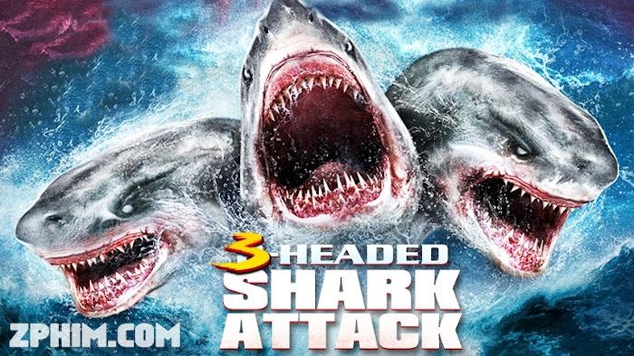 Ảnh trong phim Cá Mập 3 Đầu - 3 Headed Shark Attack 1