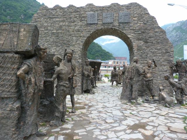 CHINE SICHUAN.KANDING , MO XI, et retour à KANDING fête du PCC - 1sichuan%2B1569.JPG
