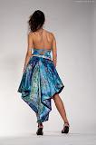 – MARINA saténové šaty ručně malované foto: Petr Kuchař