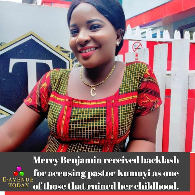 Mercy Benjamin received backlash for accusing pastor Kumuyi as one of those that ruined her childhood.