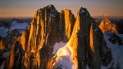 Howser Spires at Sunset, Bugaboo Glacier, British Columbia, Canada.jpg