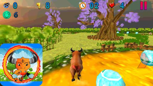 Crazy Bull Run 3D