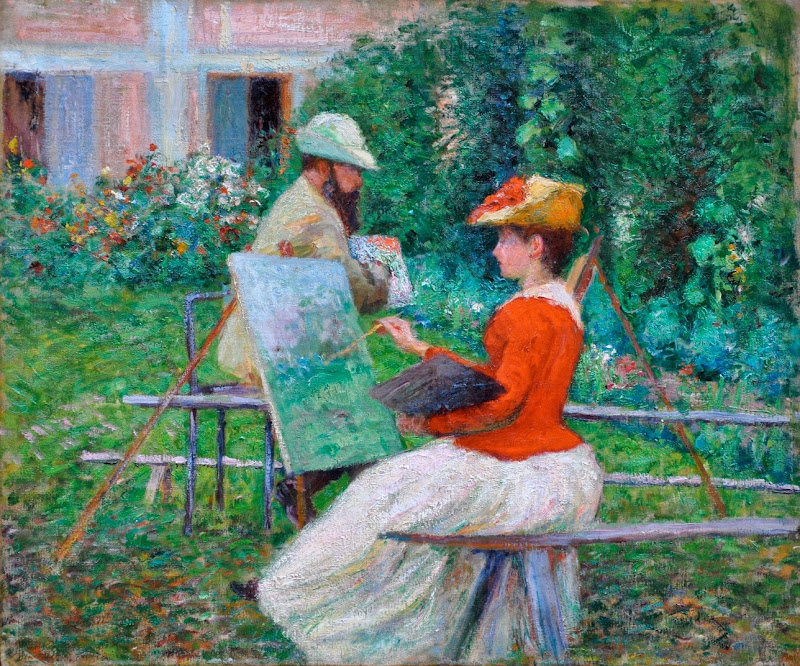 John Leslie Breck - Chez Monet.