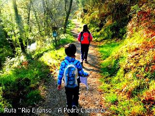 "Ruta ""Río Eifonso – A Pedra Cabalaria"""