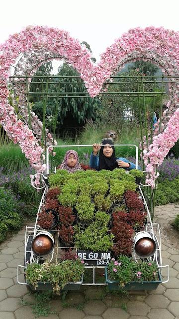 Selfie Di Kebun Begonia Lembang