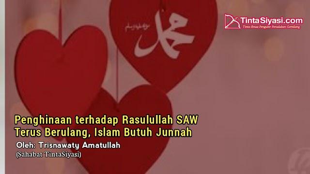 Penghinaan terhadap Rasulullah SAW Terus Berulang, Islam Butuh Junnah