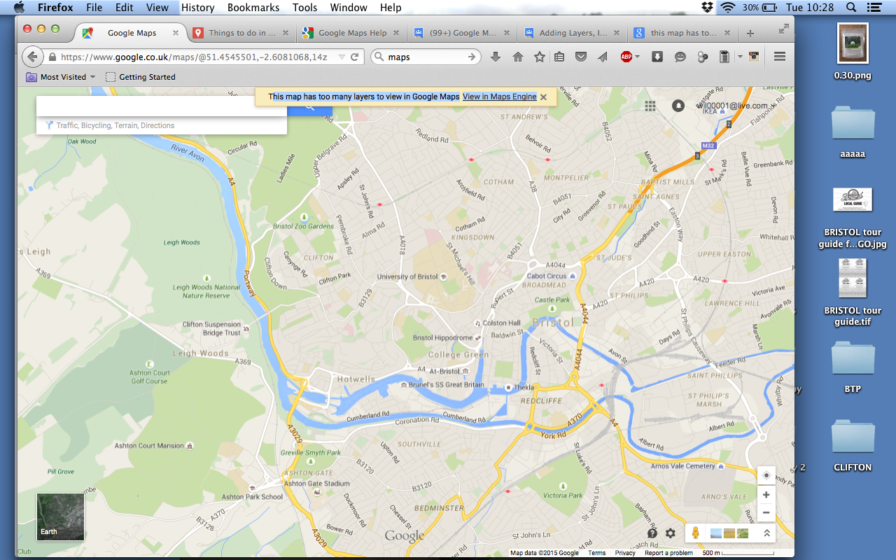 this map has too many layers to view in Google Maps View in ... Googul Map on