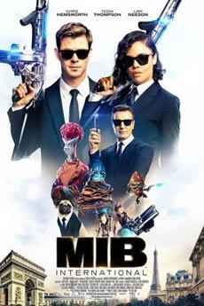 capa MIB: Homens de Preto 4 - Internacional