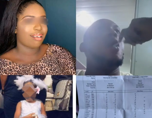 ''Women I fear una''- Nigerian man claims DNA test revealed that the girl he thought was his daughter, is not his (photos/videos)