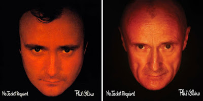 Phil Collins uses re-created album covers for retrospective release