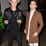 OIC - ENTSIMAGES.COM - Chris Baxter and Jake Sims at the  Britain's Next Top Model - UK TV premiere airing tonight at 9pm on Lifetime in London 14th January 2016 Photo Mobis Photos/OIC 0203 174 1069