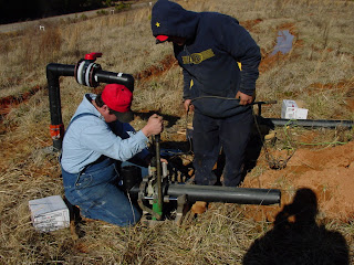 Installing a Landfill Gas Extraction system at a landfill. Where Landfill Gas can be shown to cause impacts to groundwater, installation costs can often be recovered from a state trust fund.