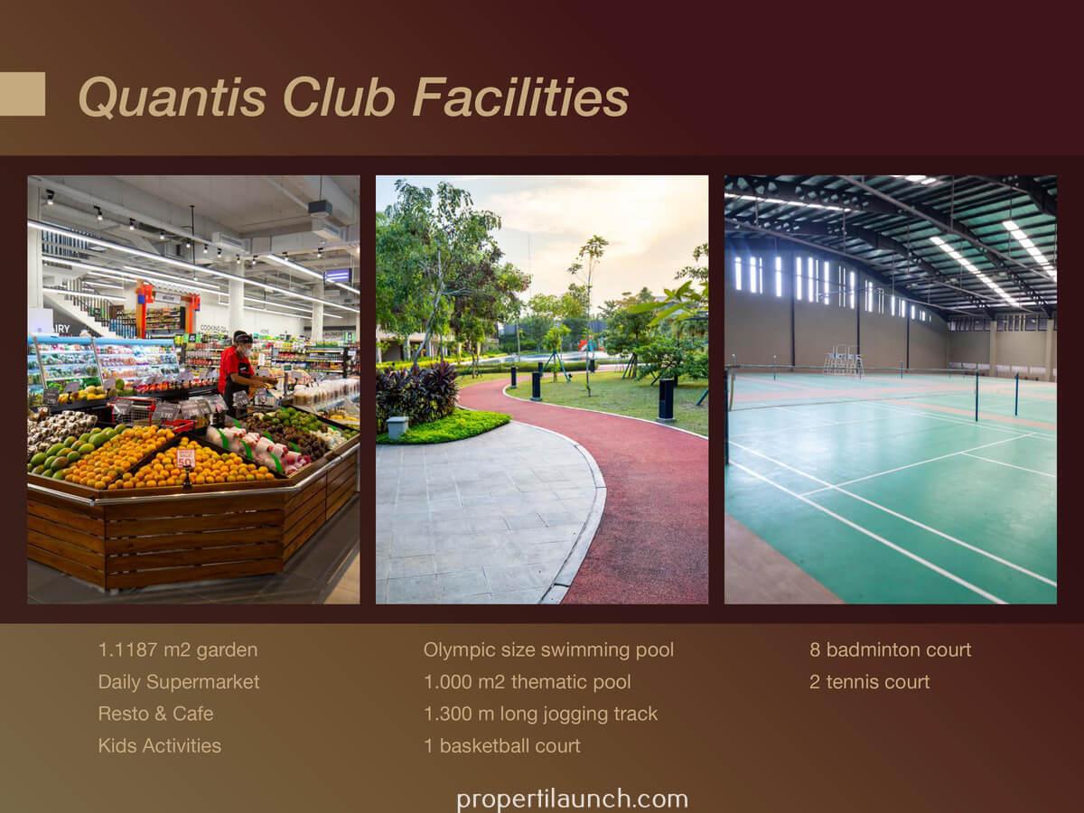 Quantis Club BSD Facilities