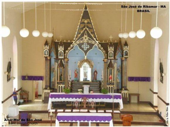 Igreja de São José de Ribamar - Maranhao, foto: ecoviagem.uol.com.br