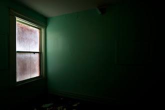 Photo: Window in green room, Waldo Hotel.
