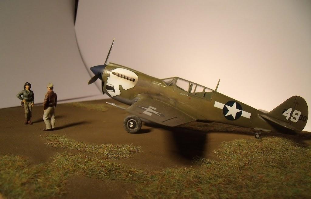 [Hasegawa] Curtiss P-40N Warhawk GEDC1343